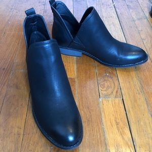 Black booties - size 10
